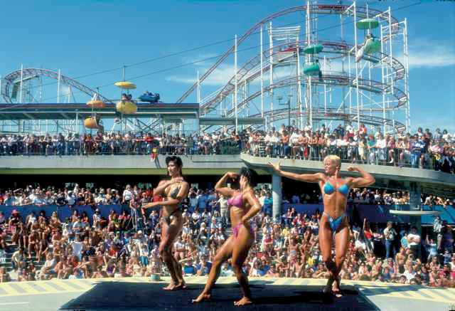 Muscle Beach Party, 1986 - Santa Cruz Beach Boardwalk Memories
