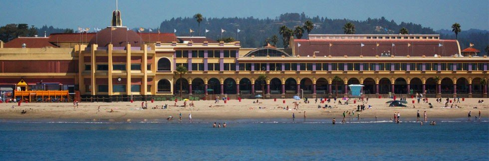 Santa Cruz Boardwalk and Main Beach